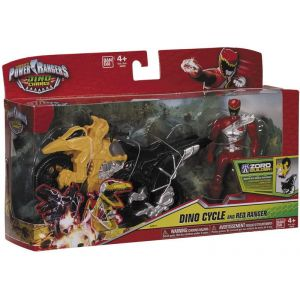 Bandai Power Ranger : Dino charge, Dino cycle & Graphite Ranger