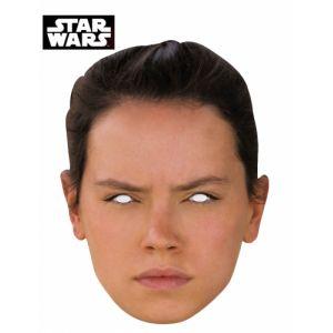 Masque en carton Rey Star Wars VII