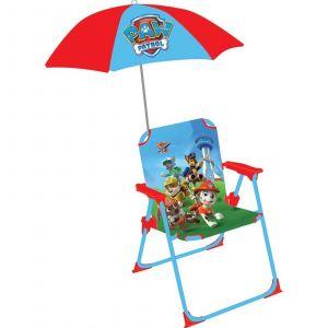 Fun House Chaise et parasol Pat'Patrouille