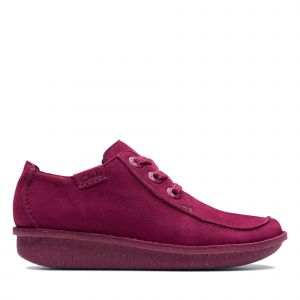 Clarks Funny Dream Rouge framboise - Taille 38