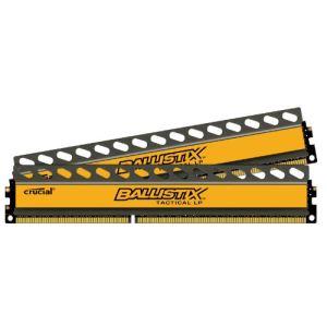 Crucial BLT4C4G3D1608ET3LX0BEU - Barrettes mémoire Ballistix Tactical 4 x 4 Go DDR3 1600 MHz Dimm 240 broches