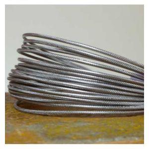 Vaessen Creative Fil aluminium strié 2mm (5m)