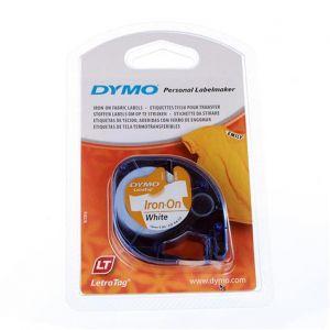 Dymo 18769 - Ruban textile pour marquage à transfert Letratag Tape Iron (1,2 cm x 2 m)