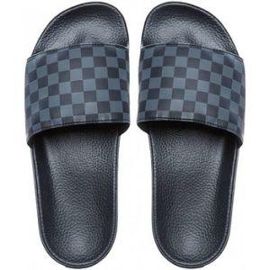 Vans Slide-on, Sandales Bout Ouvert Homme, Noir (Checkerboard), 39 EU