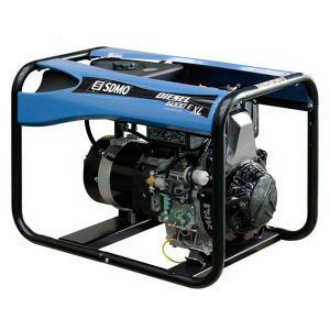 SDMO Groupe électrogène monophasé 5.2 kW Diesel 6000 E XL C5