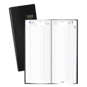 Brepols Agenda de bureau journalier long (14 x 35 cm)