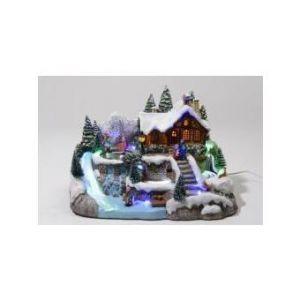 Maison de Louise - Village de Noël lumineux