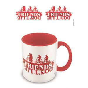 Pyramid International Mugs et tasses - Stranger Things mug Coloured Inner Friends Don't Lie-
