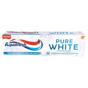 Aquafresh Dentifrice Pure White à la Menthe givrée