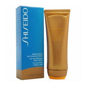 Shiseido Lait auto-bronzant hâle lumière