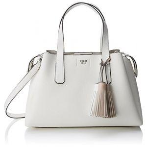 Guess Bags Hobo, Sacs bandoulière femme, Blanc (White), 14.5x24x36.5 cm (W x H L)