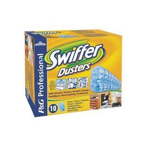 Swiffer Boîte de 10 recharges pour poignée plumeau