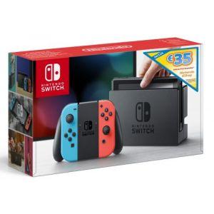 Nintendo Console Switch Bleu et Rouge Edition Limitée