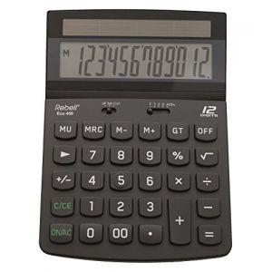 Rebell ECO450 - Calculatrice de bureau 12 chiffres