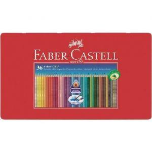 Faber-Castell Crayons couleur GRIP2001 assortis VE=36 unités