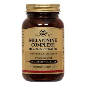 Solgar Mélatonine Complexe 30 gélules