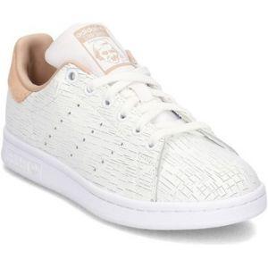 Adidas Stan Smith, Baskets Femme, Blanc (Footwear White/Footwear White/Ash Pearl 0), 36 EU