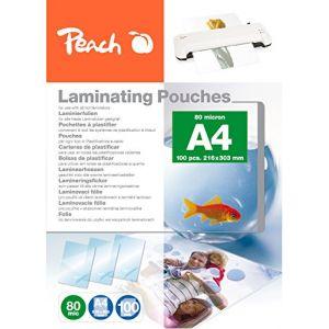 Peach PP580-02 pochette plastique 100 pc(s) - Pochettes plastiques