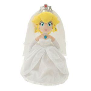 Sanei Peluche - Super Mario Odyssey - Peach Wedding 40cm