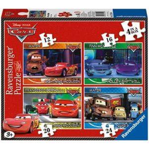 Ravensburger Disney Cars - Boite 4 puzzles 12, 16, 20 et 24 pièces