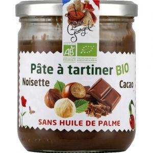 Lucien georgelin Pâte à tartiner noisette bio - Le bocal de 400g