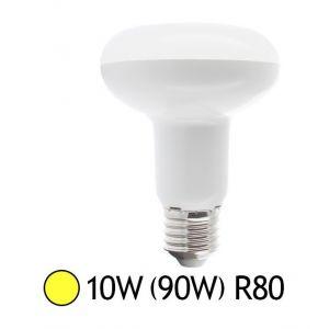 Vision-El Ampoule Led 10W (90W) E27 Spot R80 Blanc chaud -