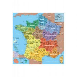 Puzzle Michèle Wilson Géographie carte de France - Puzzle en bois Art Maxi 24 pièces