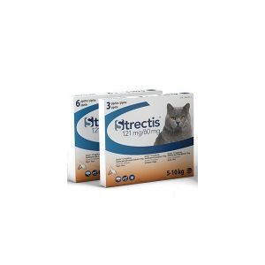 Ceva Strectis chat 121 mg pour chat de 5 à 10 kg  3 pipettes