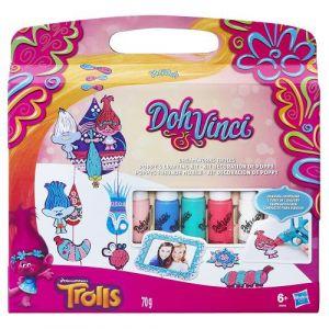 Hasbro Doh Vinci Kit décoration de Poppy Trolls