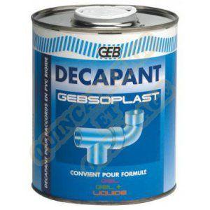 Geb Gebsoplast décapant PVC ou PVCC avant collage - 1 litre ref. 805373
