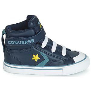 Converse Chaussures enfant PRO BLAZE STRAP LEATHER HI bleu - Taille 20,21,22,23,24,25,26