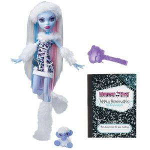 Mattel Monster High Abbey Bominable et son journal intime