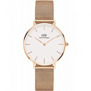 Daniel Wellington DW00100219 - Montre pour femme avec bracelet en acier