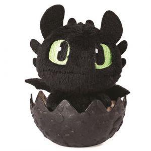 Spin Master Peluche 10 cm Dragon dans son oeuf - Dragons 3 - Krokmou