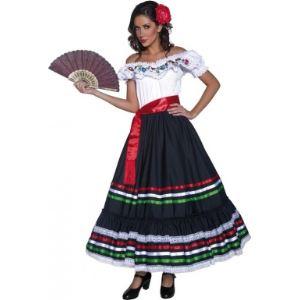 Déguisement de mexicaine (taille S)
