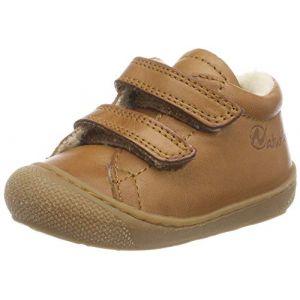Naturino Cocoon VL, Sneakers Basses bébé garçon, Marron (Cognac 0d06), 26 EU