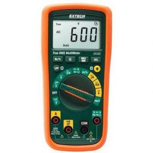 Extech EX350 Avec étalonnage: d'usine CAT III 600 V Multimètre numérique