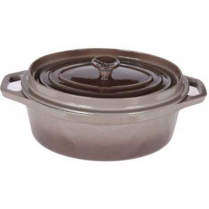 Invicta 30335 - Cocotte ovale en fonte 35 cm