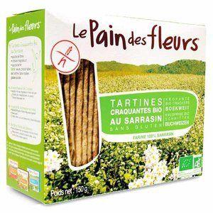 Le pain des fleurs Tartine craquante au sarrasin 300g