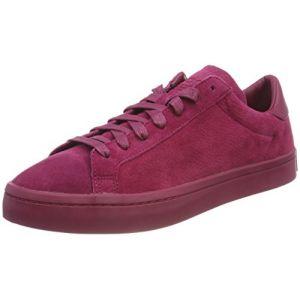 Adidas Originals Courtvantage, Baskets Homme, Rouge (Mystery Rouge Ruby/Mystery Rouge Ruby/Mystery Rouge Ruby 0), 45 1/3 EU