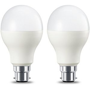 Amazon Basics Ampoule LED à baïonnette B22 A67, 14W (équivalent ampoule incandescente de 100W), blanc chaud, dimmable - Lot de 2