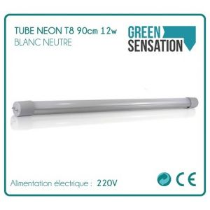 Desineo Tube Néon T8 90cm 12w 1050Lm Blanc neutre LED