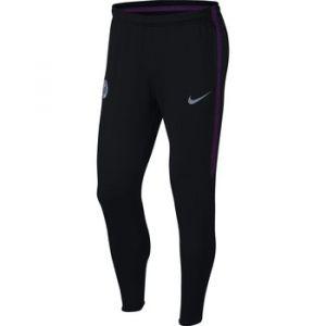 Nike Pantalon de football Manchester City FC Dri-FIT Squad pour Homme - Noir - Taille XL