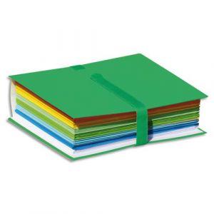 Elba 400081925 Pack de 10 Chemises à sangle extensibles 24 x 32 Fermeture Velcro Vert Foncé