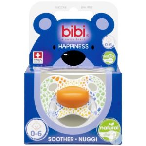 Bibi Happiness Natural wild baby sucette 0-6
