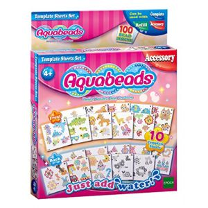 Epoch Aquabeads Feuilles de modèle défini