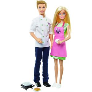 Mattel Coffret Barbie et Ken