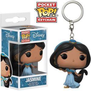 Funko Porte Clé Disney Aladdin - Jasmine Pocket Pop 4cm
