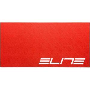 Elite Tapis d'entraînement pour home trainer Rouge