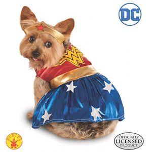 Rubie's Costume de Wonder Woman haut de gamme pour chien